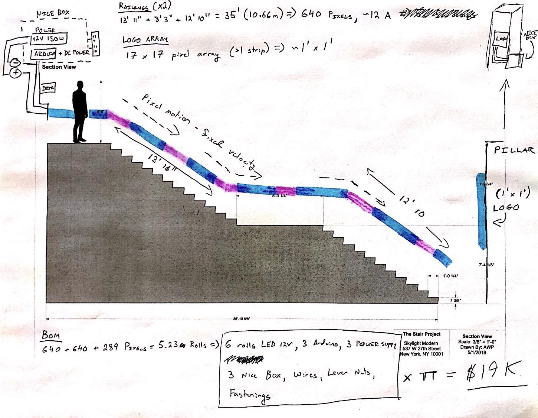 Evil Corporate Stairs Lighting Design Caleb Ferguson's Blog